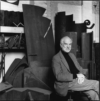 Anthony Caro Portrait Photograph