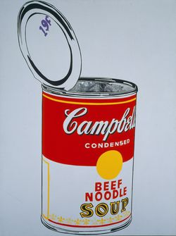 Andy Warhol_Big Campbell's Soup Can