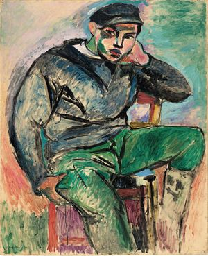 7._Young Sailor I_Henri Matisse