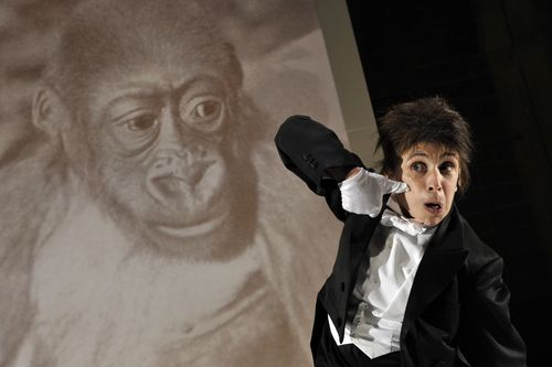 Kafka's Monkey pix is Kathryn Hunter photo credit  Keith Pattison 1