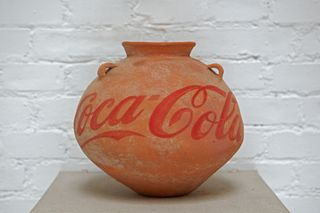 Ai Weiwei_Neolithic Vase with Coca Cola