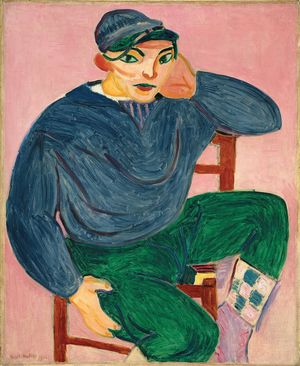 8._Young Sailor II_Henri Matisse