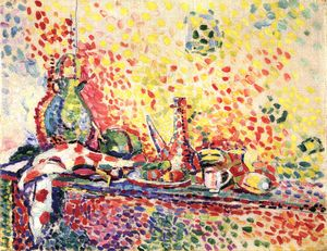 6._Still Life with Purro II_Henri Matisse